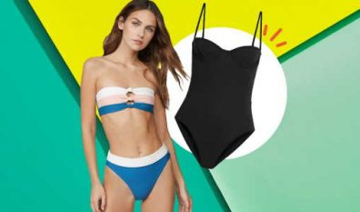 Tricks to look skinnier in a swimsuit